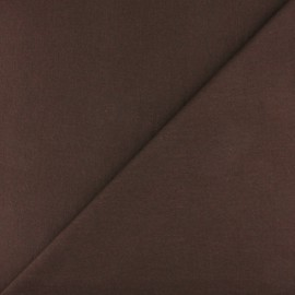 Tubular Jersey fabric - Chocolate x 10cm