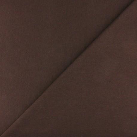 Tubular Jersey fabric - Chocolate x 10cm