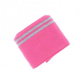 Poppy Edging Fabric (135x7cm) - Fuchsia Duo