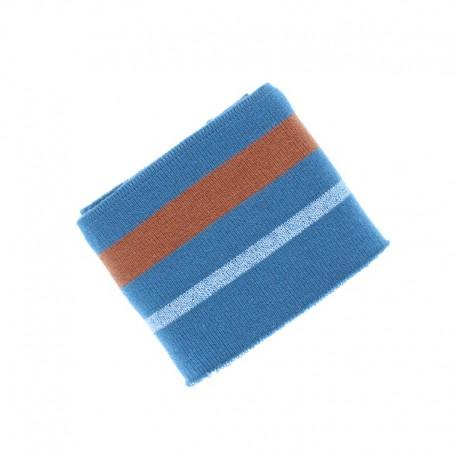 Poppy Ribbing Cuffs (135x7cm) - Light grey Simple