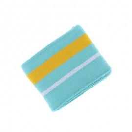 Poppy Ribbing Cuffs (135x7cm) - Mint Simple