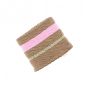 Poppy Ribbing Cuffs (135x7cm) - Camel Simple