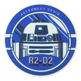 Ecusson Thermocollant Star Wars - R2-D2
