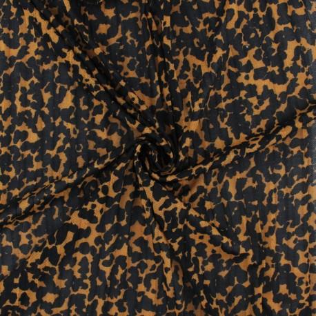Tissu résille plissé Rapsodie - écru x 10 cm