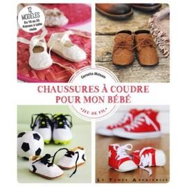"""Livre """"Chaussures à coudre pour mon bébé"""""""