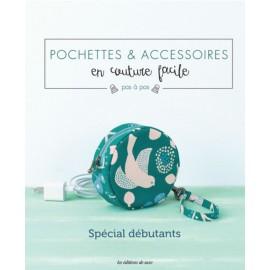 """Livre """"Pochettes & accessoires en couture facile"""""""