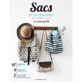 """Livre """"Sacs et accessoires en couture facile"""""""