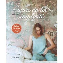 """Livre """"La couture du lin en toute simplicité"""""""