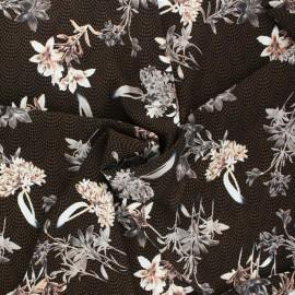 Tissu polyester Automne - écru x 10cm