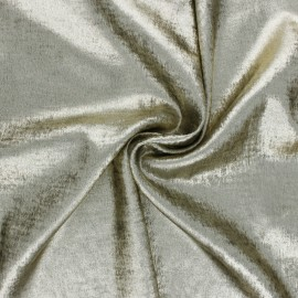 Tissu lamé Vicky - doré x 10cm