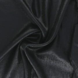 Tissu lamé Vicky - argent x 10cm