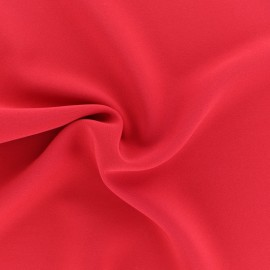 Tissu crêpe fluide Adela - Aubergine x 50cm