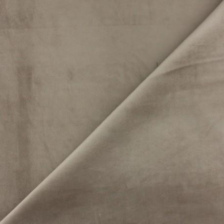 Short velvet fabric - Chestnut Bristol x10cm