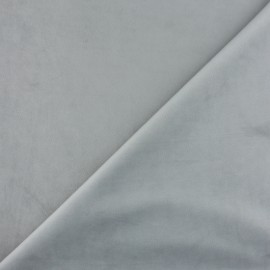 Short velvet fabric - Pearl Bristol x10cm