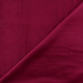 Short velvet fabric - Garnet Bristol x10cm
