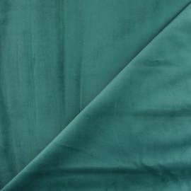 Tissu velours ras Bristol - Celadon x10cm