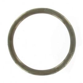 Anneau soudé diamètre 27 mm épaisseur 3.4mm - vieux laiton