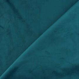 Short velvet fabric - Lagoon Bristol x10cm