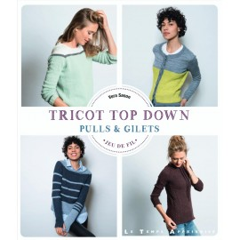 """Book """"Tricot top down"""""""