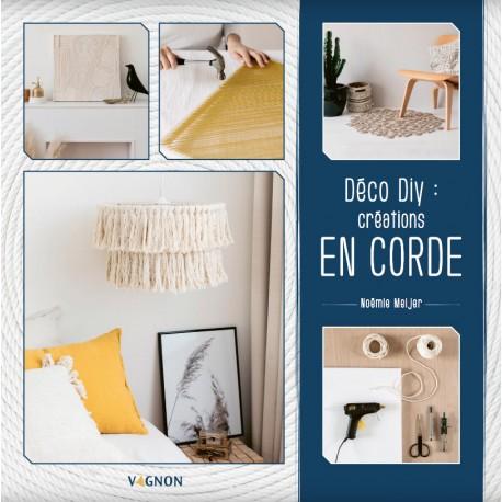 """Book """" Déco DIY : mes créations en corde"""""""