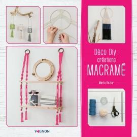 """Livre """"Déco DIY : mes créations en macramé"""""""