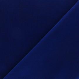 Tissu velours ras Bonnie - bleu marine x10cm