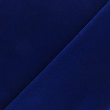 Short velvet fabric - Navy blue Bonnie x10cm
