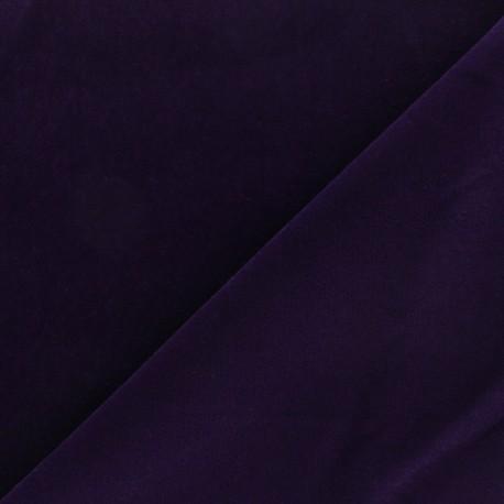 Short velvet fabric - Blue Bonnie x10cm