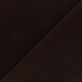 Short velvet fabric - Dark red Bonnie x10cm
