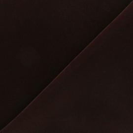Tissu velours ras Bonnie - grenat x10cm