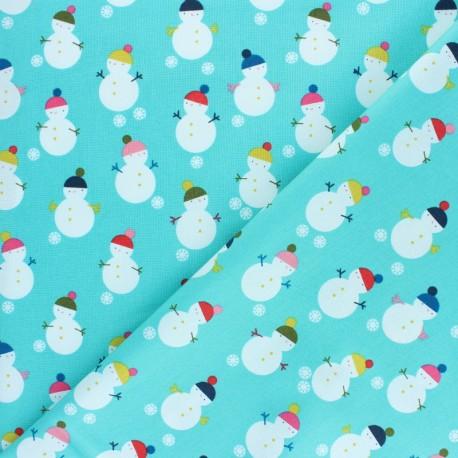 Cotton Dashwood fabric - Christmas Party - Snow globe x 10cm