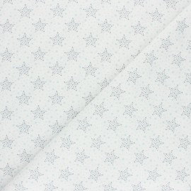 Cretonne Cotton fabric - Blue Starry x 10cm