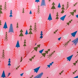 Cotton Dashwood Studio fabric - Pine tree x 10cm