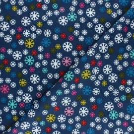 Cotton Dashwood Studio fabric - Snowflake x 10cm