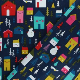 Cotton Dashwood Studio fabric - House x 10cm