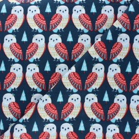 Cotton Dashwood Studio fabric Skogen - Owl x 10cm