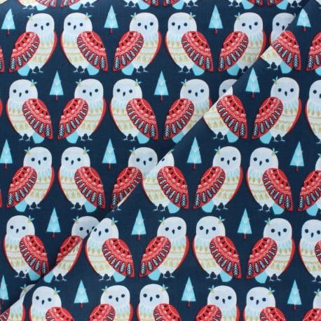 Cotton Dashwood Studio fabric Skogen - Deer x 10cm