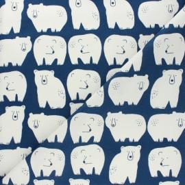Tissu coton Dashwood Studio Laska - Ours x 10cm