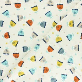 Cotton Dashwood Studio fabric Laska - Ours x 10cm