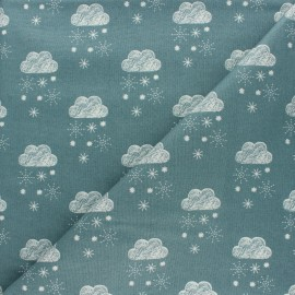 Cotton Dashwood Studio fabric Laska - Cloud x 10cm