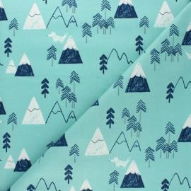 Tissu coton Dashwood Studio Laska - Whale x 10cm