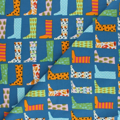 Cotton Dashwood Studio fabric Walk in the woods - Acorn x 10cm