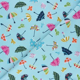 Cotton Dashwood Studio fabric Walk in the woods - Umbrella x 10cm