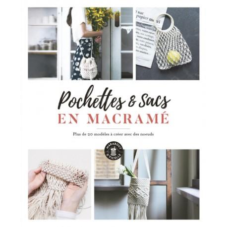 """Book """"Pochettes & sacs en macramé"""""""