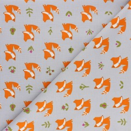 Cotton Dashwood Studio fabric Walk in the woods - Fox x 10cm