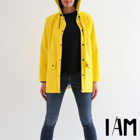 Raincoat Sewing Pattern - I am Patterns I am Jacques