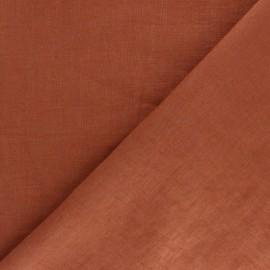 Tissu lin lavé (laize: 135cm) - gris charbon x 10cm
