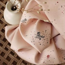 Tissu viscose Atelier Brunette - Twig Night x 10cm