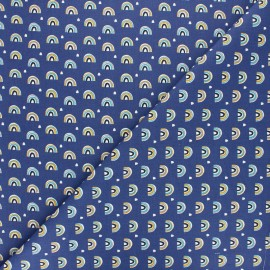 Tissu coton cretonne Arcol - rose x 10cm