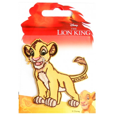 The Lion King Iron-On Patch - Simba